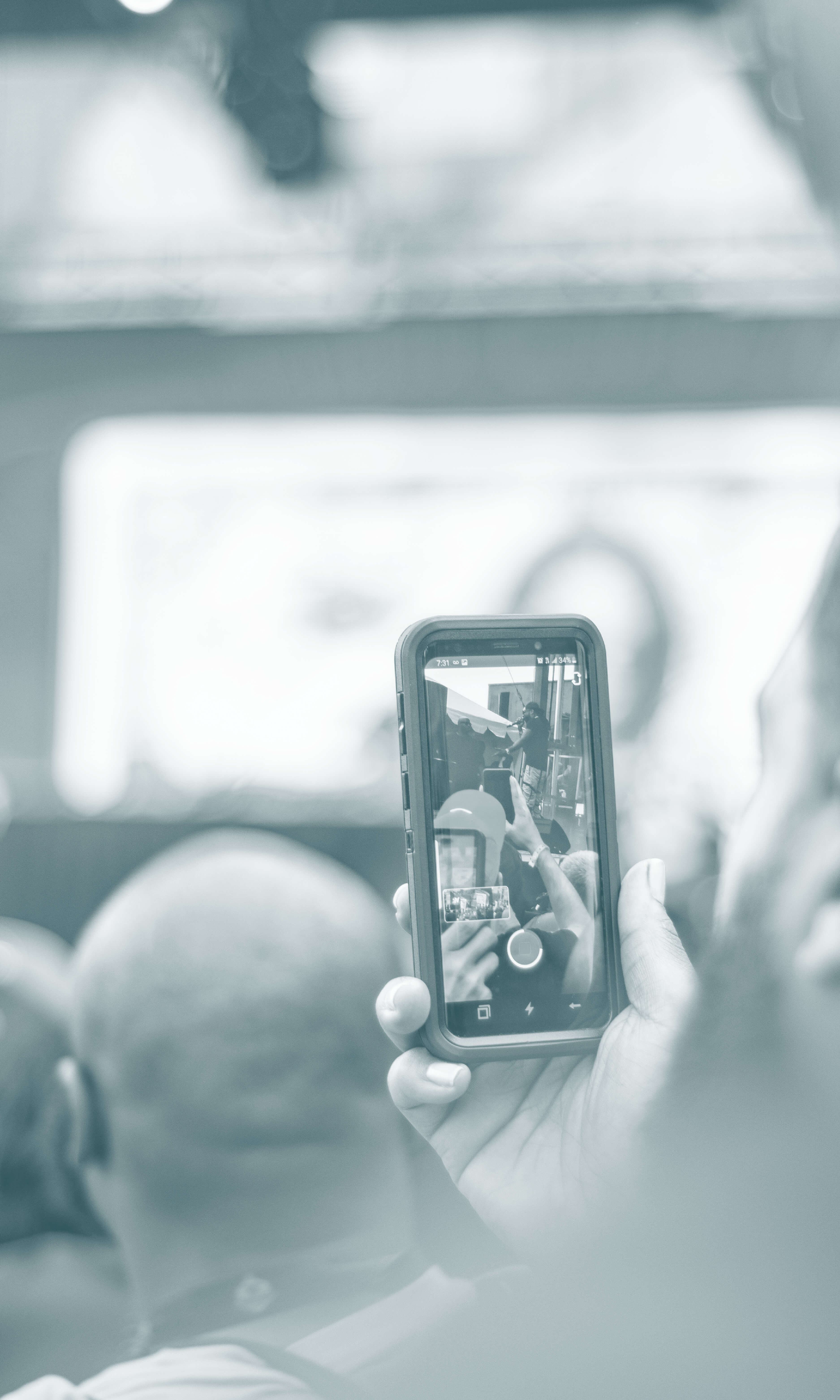 Do You Think Cellphones Ruin the Concert Viewing Experience? image